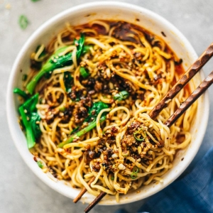 Spicy Sauced Noodles