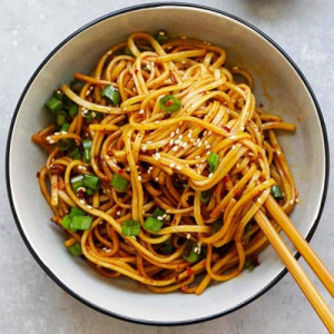 Spicy Stir-Fried Noodles