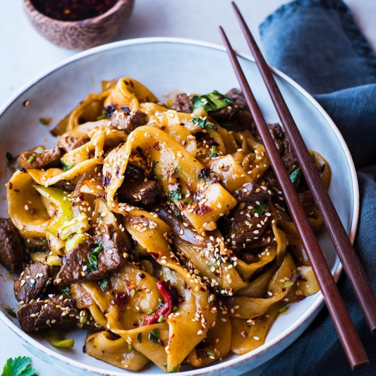 F3. Cumin Lamb Stir-Fried Noodles