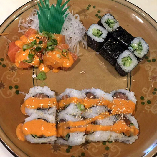 Spicy Sushi Combos