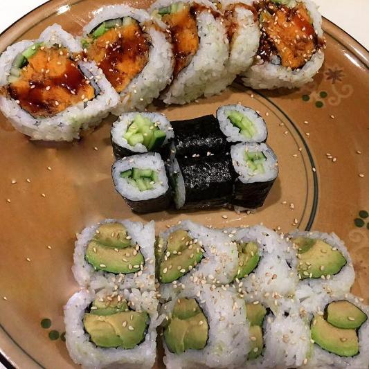 Vegetarian Sushi Combos