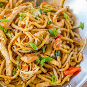 136. China City Special Lo Mein