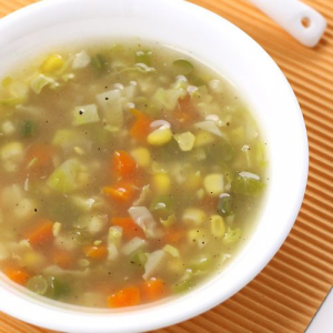 4. Mixed Vegetable Soup