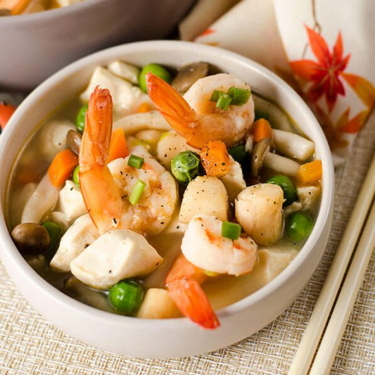 7. Seafood Tofu Soup