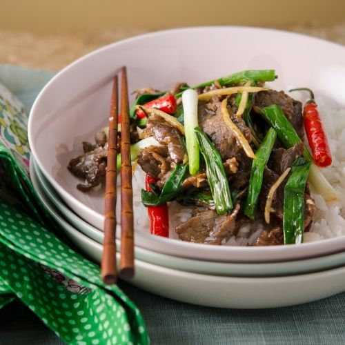 13. Beef Omasa with Ginger and Green Onion (M)