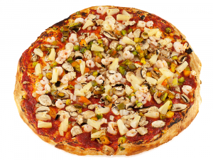 9. Shrimp Special Pizza