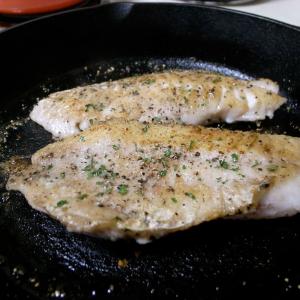 28. Pan Fried Rock Cod Meat