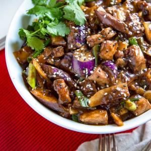 78. Shredded Pork with Eggplant (Hot)