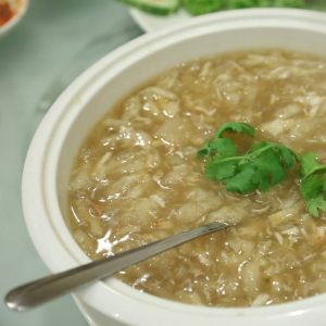 17. Crab Meat & Fish Maw In Thick Soup