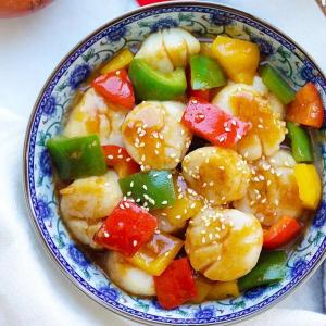 36. Scallop & Seasonal Vegetables
