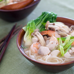 151. Seafood Noodle in Soup