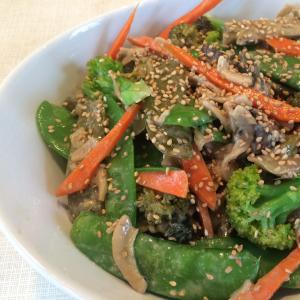 75. Assorted Meat & Seasonal Vegetables