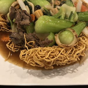 213. Special B.B.Q. Mixed Meat with Mixed Noodle