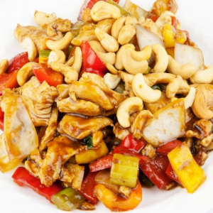 84. Diced Chicken with Nuts