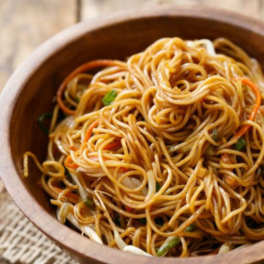 237. Pan Fried Noodle in Soy Sauce