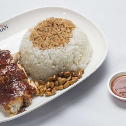191. Soya Sauce Chicken on Rice