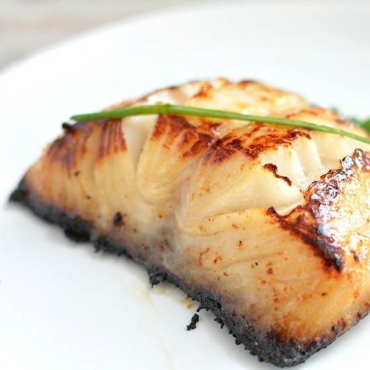 48. Black Cod with Salt & Hot Pepper