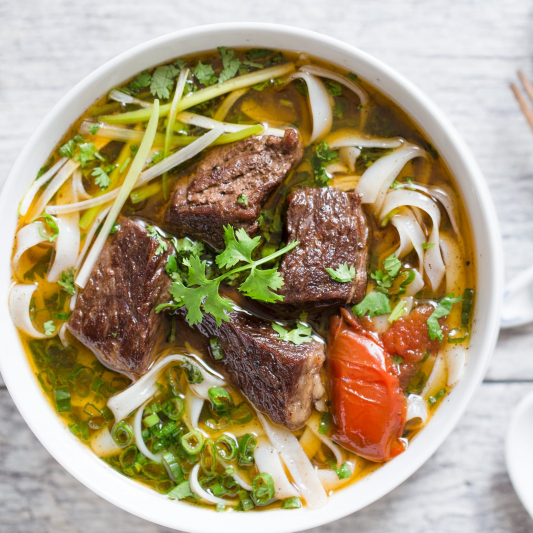 142. Sliced Beef Noodle in Soup