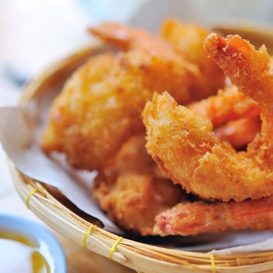 32. Deep Fried Prawns
