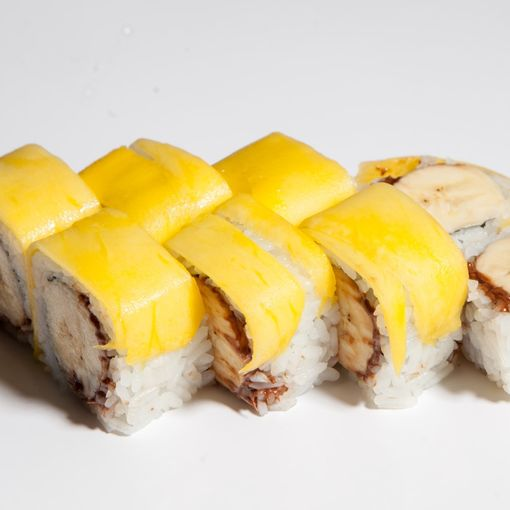 66. Mango Banana Roll (6 pcs)