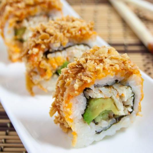 88. Deep-Fried Crab Roll