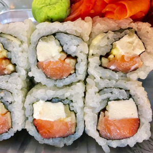 Smoked Salmon Cream Cheese Roll