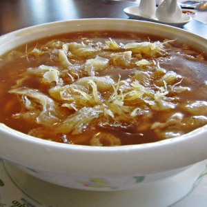 Braised Chicken Meat with Shark Fin Soup - Sup Vay Ca Ga
