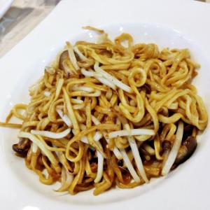 Enoki Mushrooms and Conpoy Vermicelli - Bun Xao Nam Enoki Va So Dieo Kho