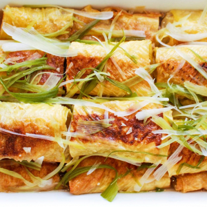 11. Braised Meat in Bean Curd Skin Rolls