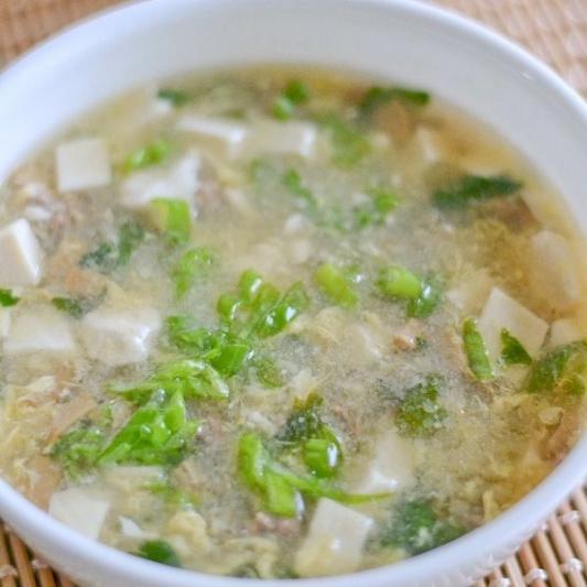 Beef with Cilantro Soup - Sup Bo Va Ngo