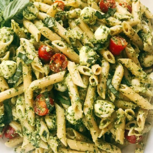 15. Pesto Pasta