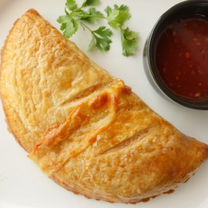 Tandoori Chicken Calzone
