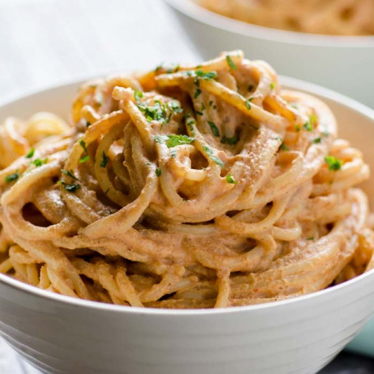 14. Veggie Chipotle Pasta
