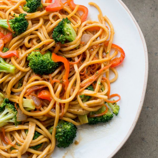Mixed Vegetable Lo Mein