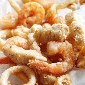 P. Salt and Pepper Seafood