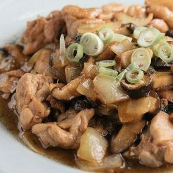 86. Sliced Chicken with Oyster Sauce