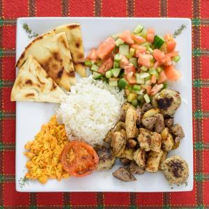 Mixed Kebab Combo