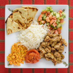 Chicken Kebab Combo