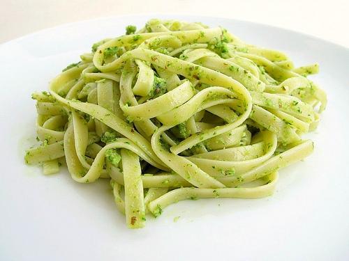Pesto Fettuccini