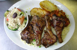 Lamb Chop Charboiled