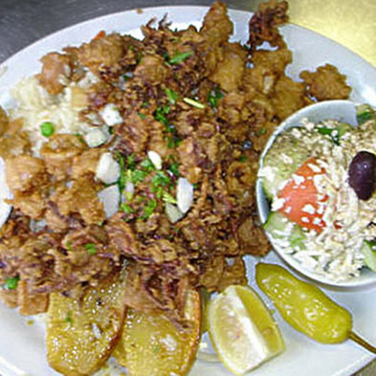 Kalamari Dinner