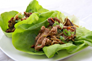 Curried Pork Lettuce Wrap