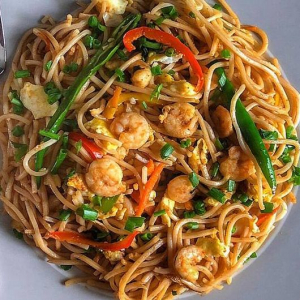 23. Prawn Hot and Spicy Noodles