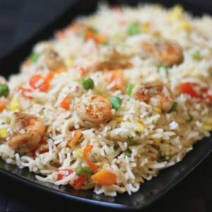 17. Prawn Fried Rice