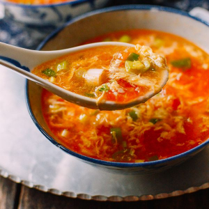 E2. Tomatoes with Egg Soup