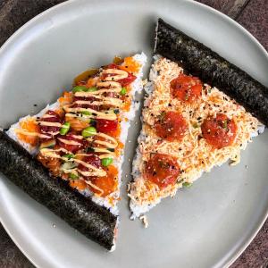Sushi Pizzas