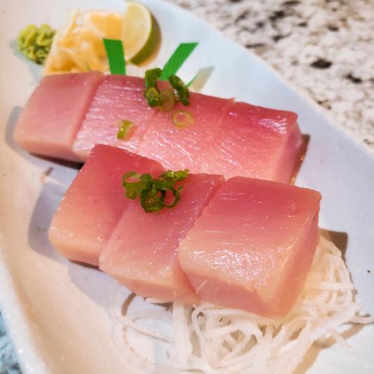Albacore Tuna Sashimi (7 pcs)