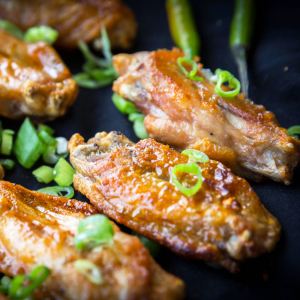 Fire-Grilled Wings (10 pcs)