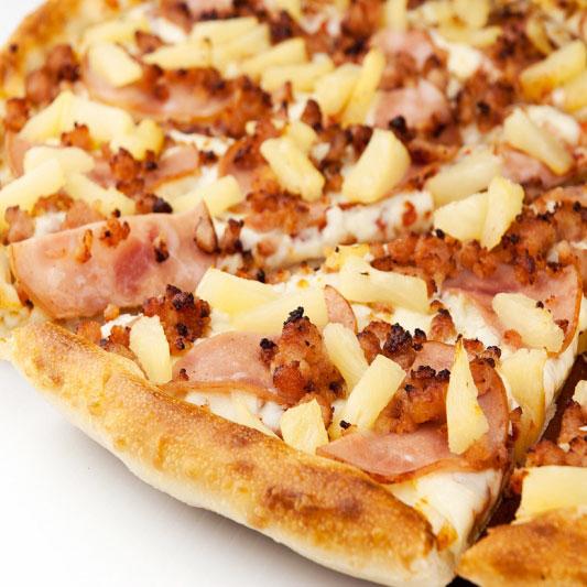 Sweet Sour Hawaiian Pizza