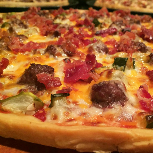 Bacon Beef Classic Pizza